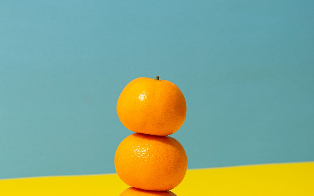 What does an orange have to do with another's anger?