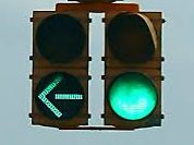 Ahhh…Yes!  When does a green light mean 'GO'?